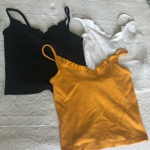 Forever 21 Set of Camisole Top (3 pieces)
